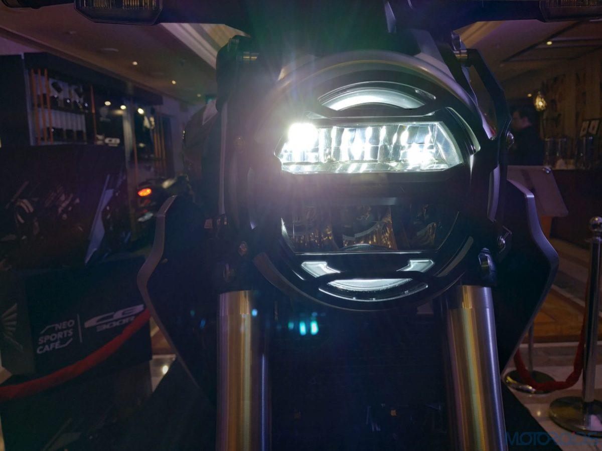 Honda CB300R India LED headlight (3)