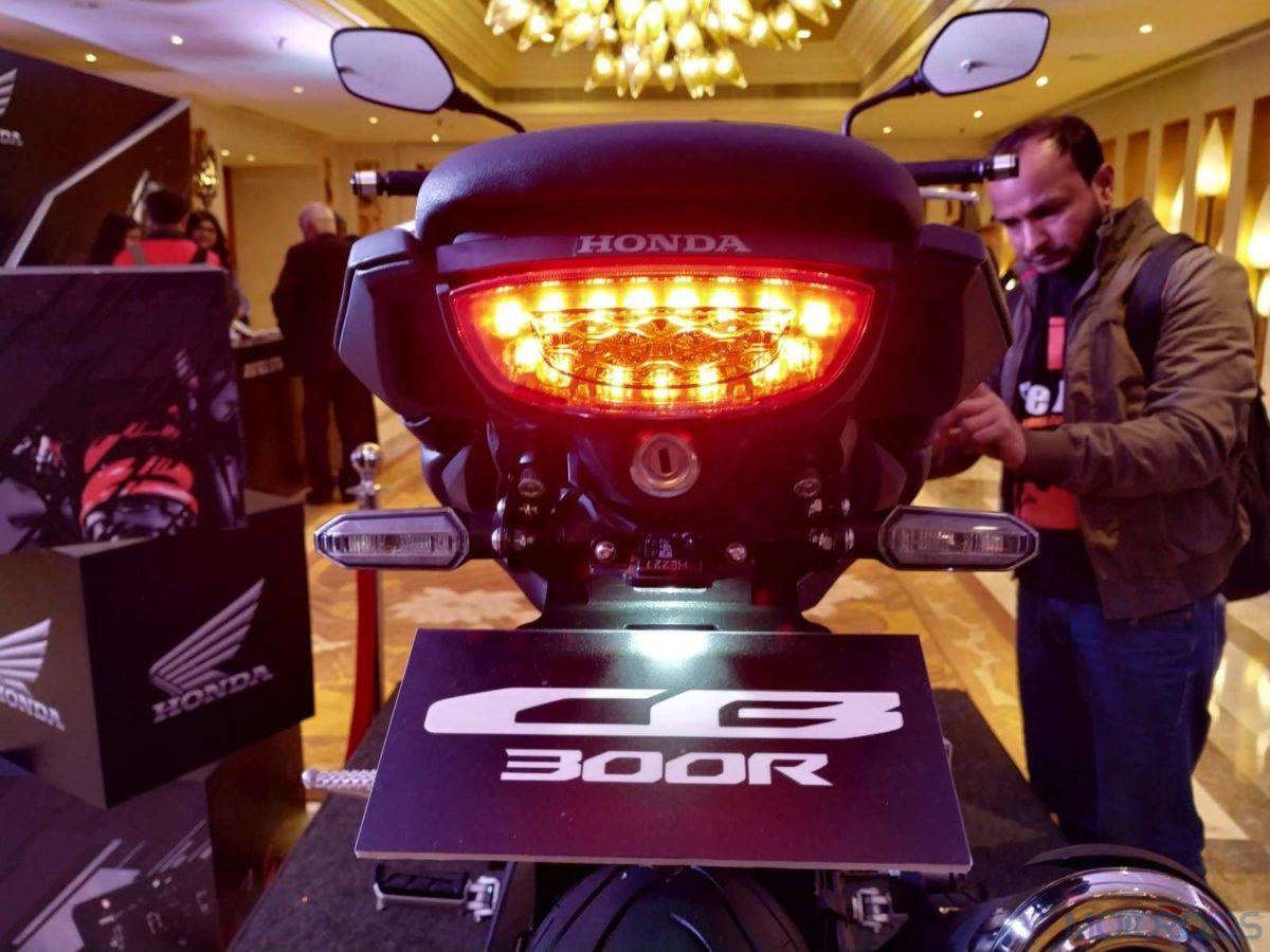 Honda CB300R India LED taillight and indicators (8)