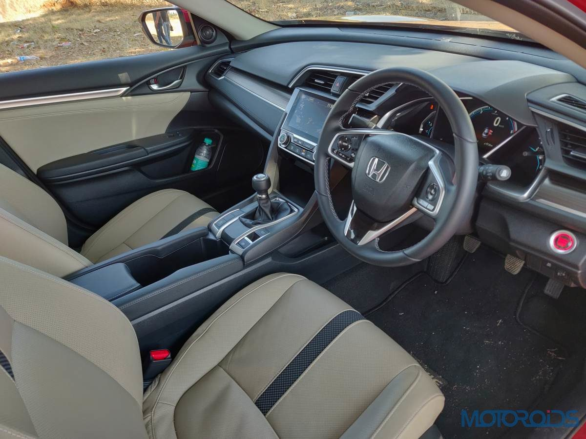 Honda Civic Front Interior