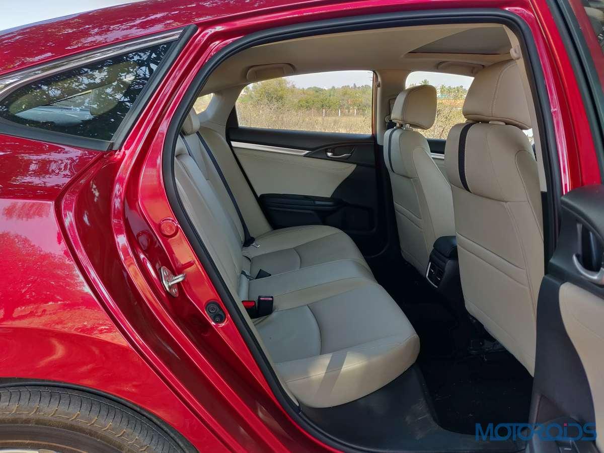 Honda Civic Inside Space