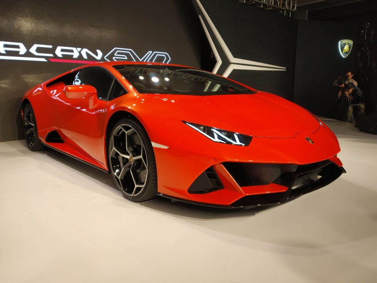 Huracan Evo Launch