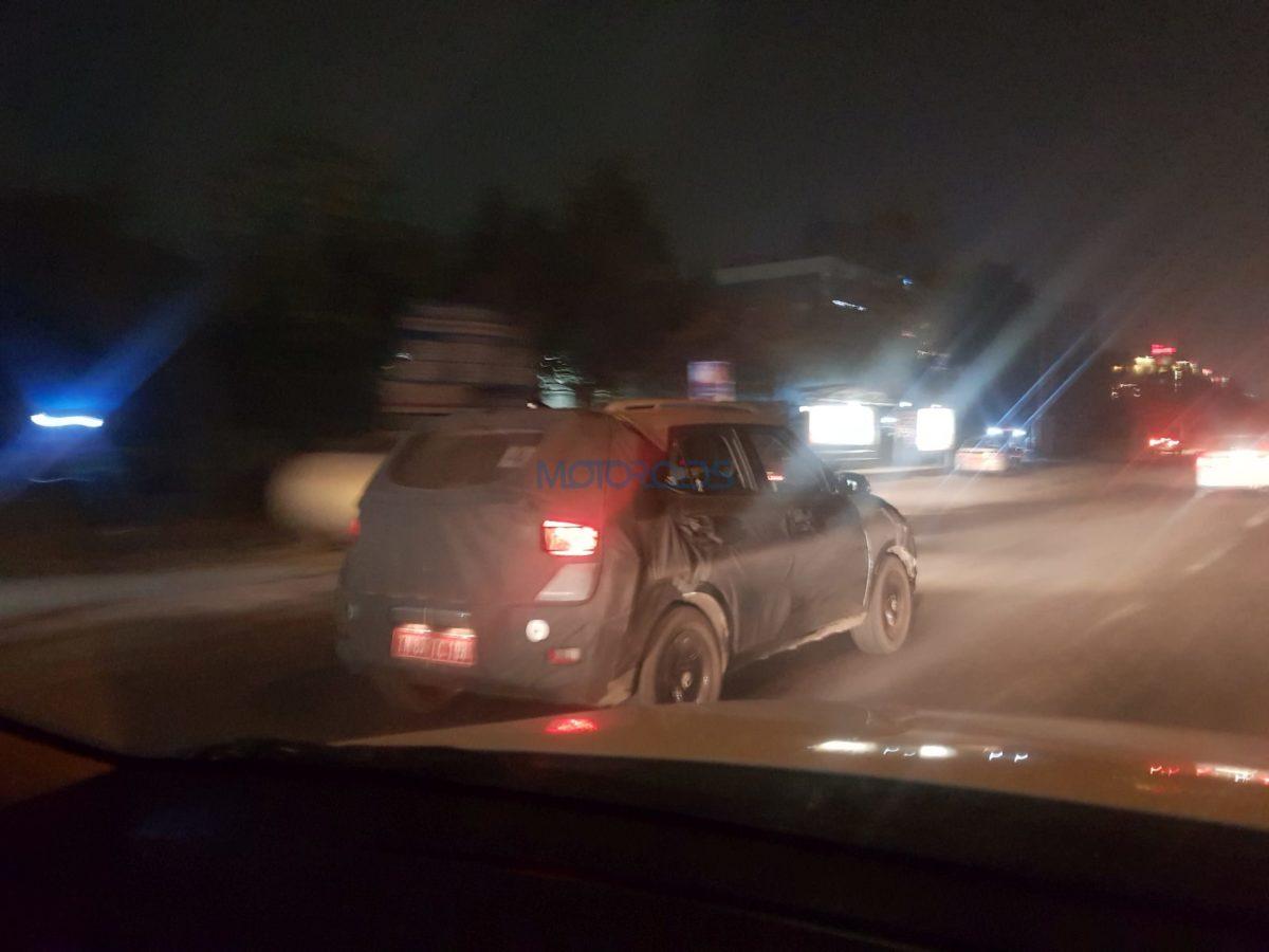 Hyundai Styx (Carlino) Compact SUV spy images rear three quarter (2)