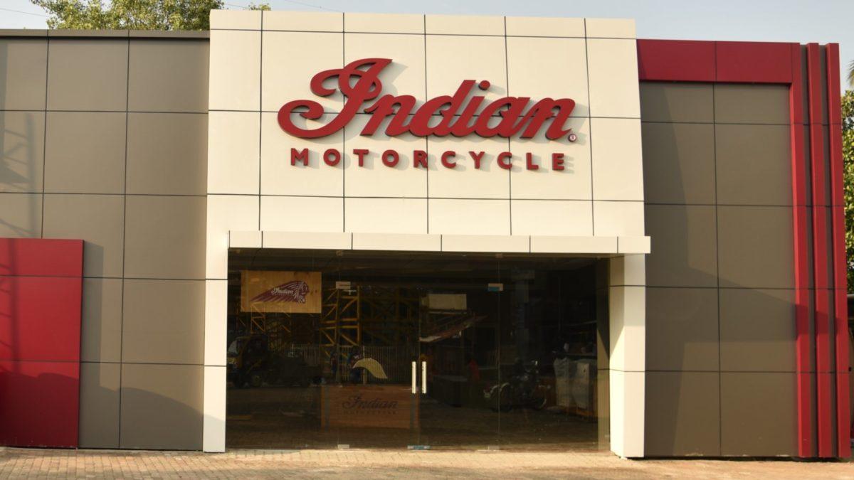 Indian Motorcycle Kochi showroom