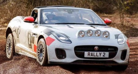 This One-Off Jaguar F-Type Loves Getting Dirty
