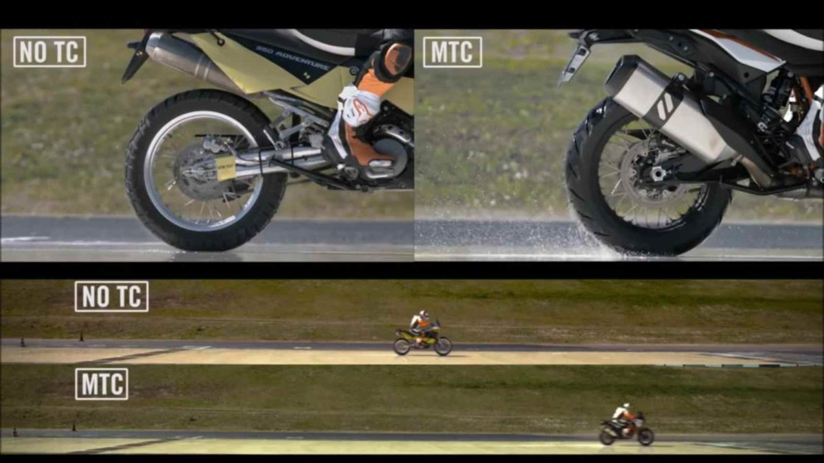 KTM Traction control video featured