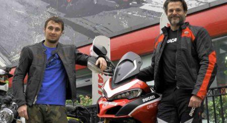 Karel Abraham in Rajasthan Ducati Dream Tour