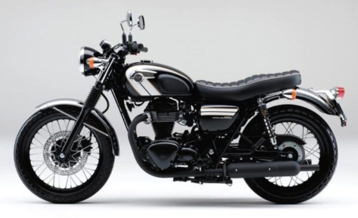 Kawasaki W800 side