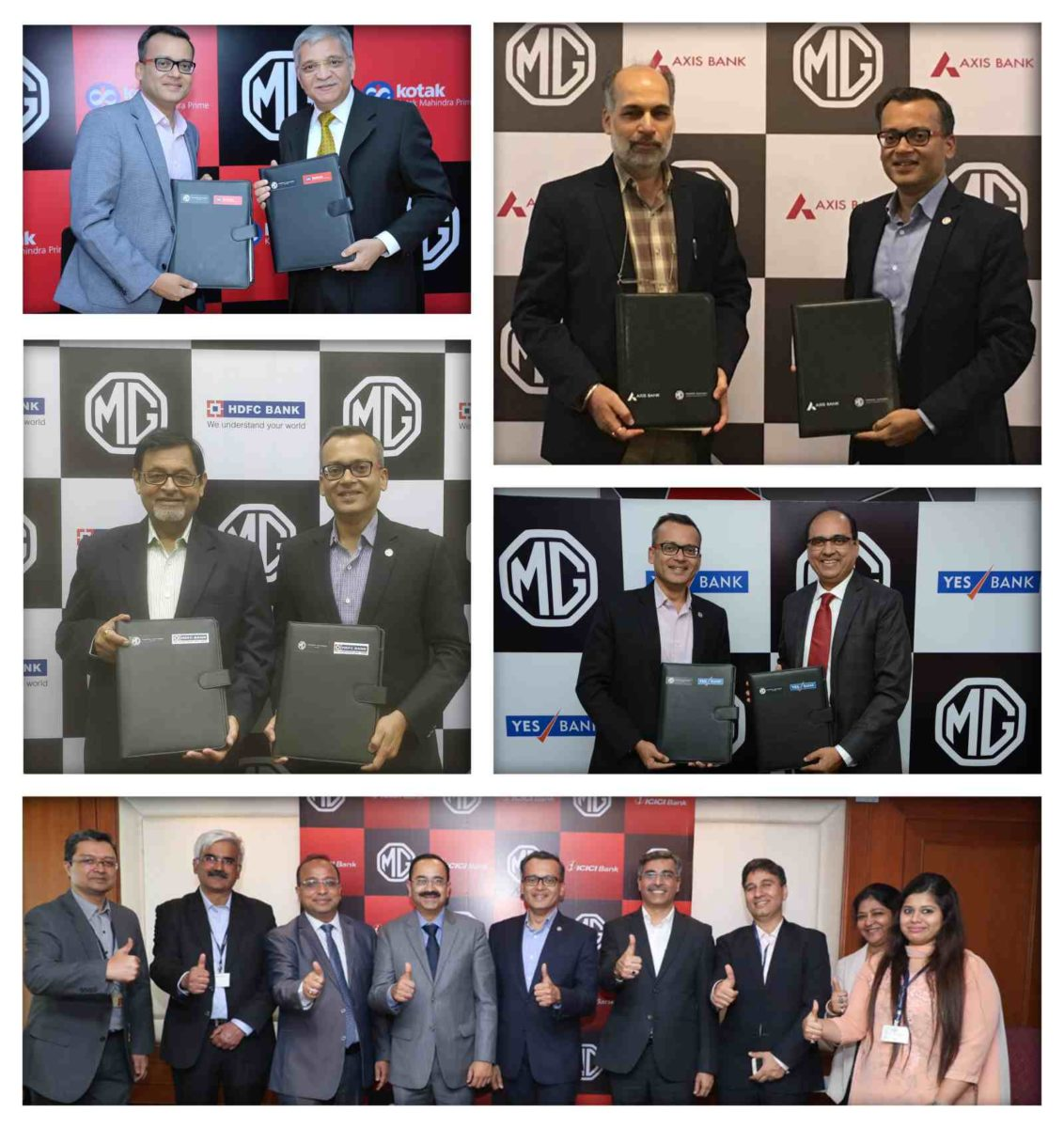 MG Motor India signs MoUs
