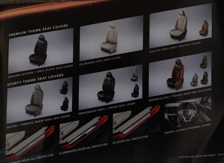 Mahindra XUV300 seat covers
