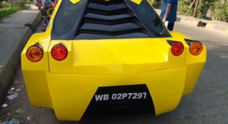 Modified Maruti Suzuki Esteem rear