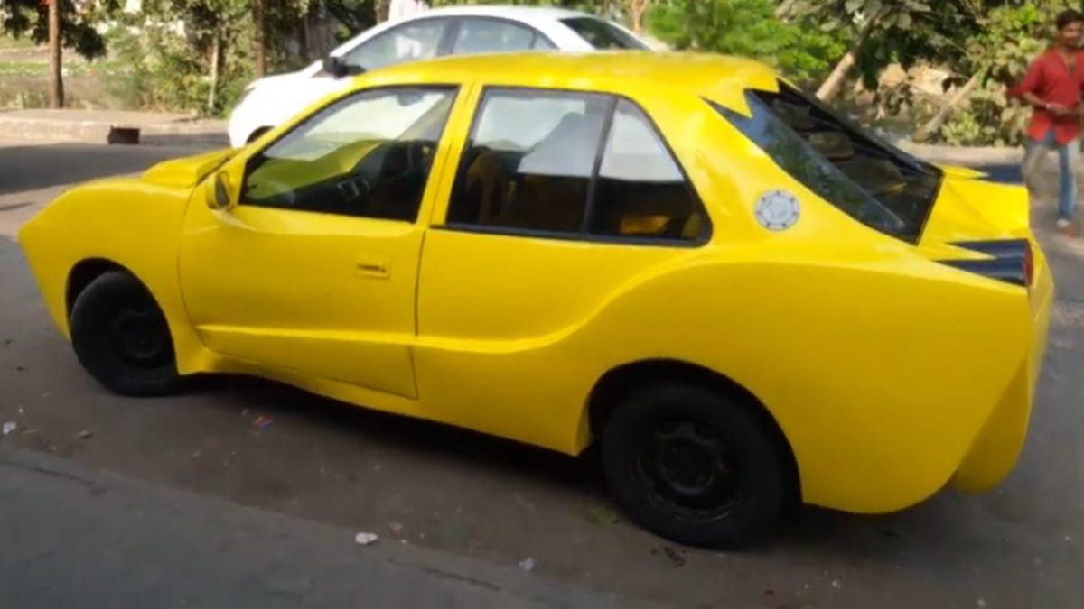 Modified Maruti Suzuki Esteem side
