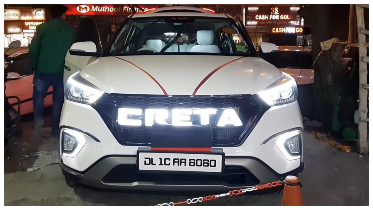 Modified base variant Creta front