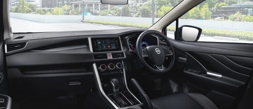 Nissan Livina unveiled dashboard