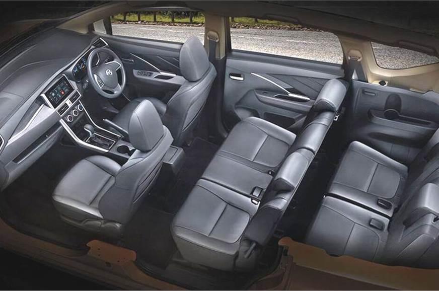 Nissan Livina unveiled seating arrangemnet