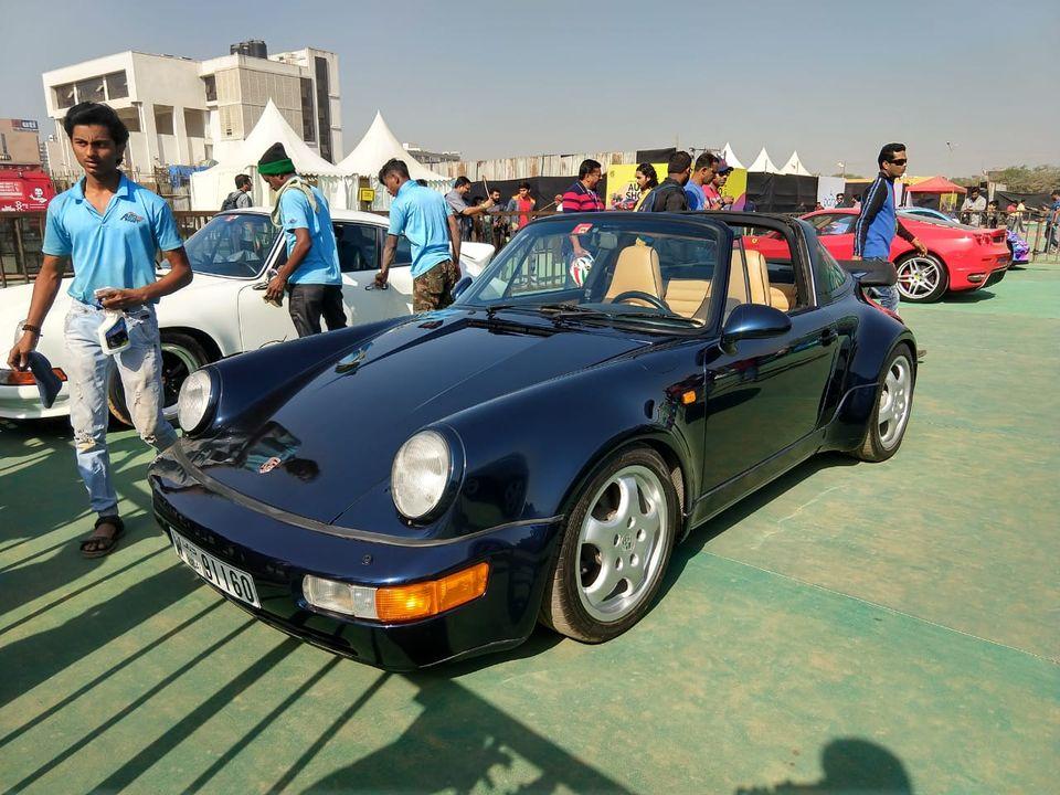 Parx Car Show 964 targa