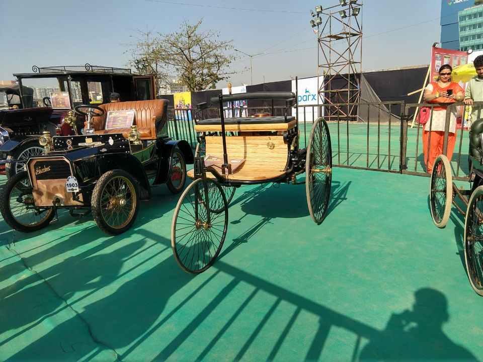 Parx Car Vintage Benz