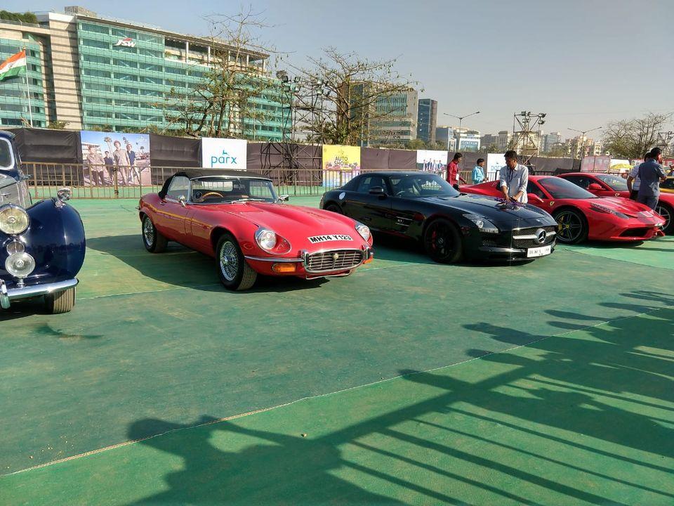 Parx Car Vintage E type coupe