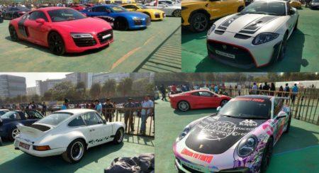 Parx Car show Supercars features