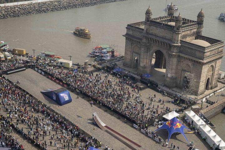 Red Bull FMX Jam Mumbai at Gateway of India