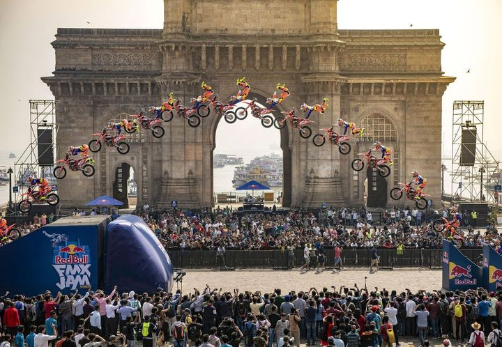 Red Bull FMX Jam Sequence shot 2