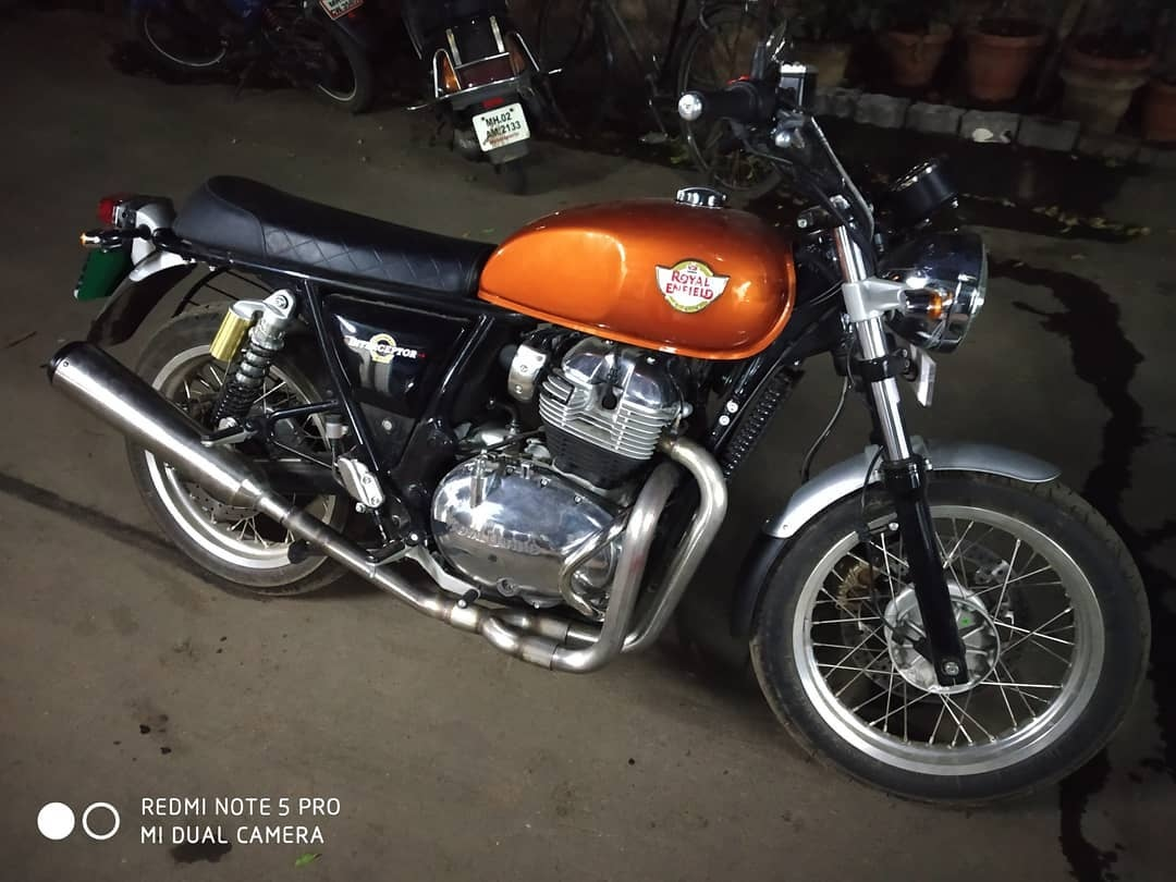 SS Moto's 2 into 1 System Deletes One Of Royal Enfield