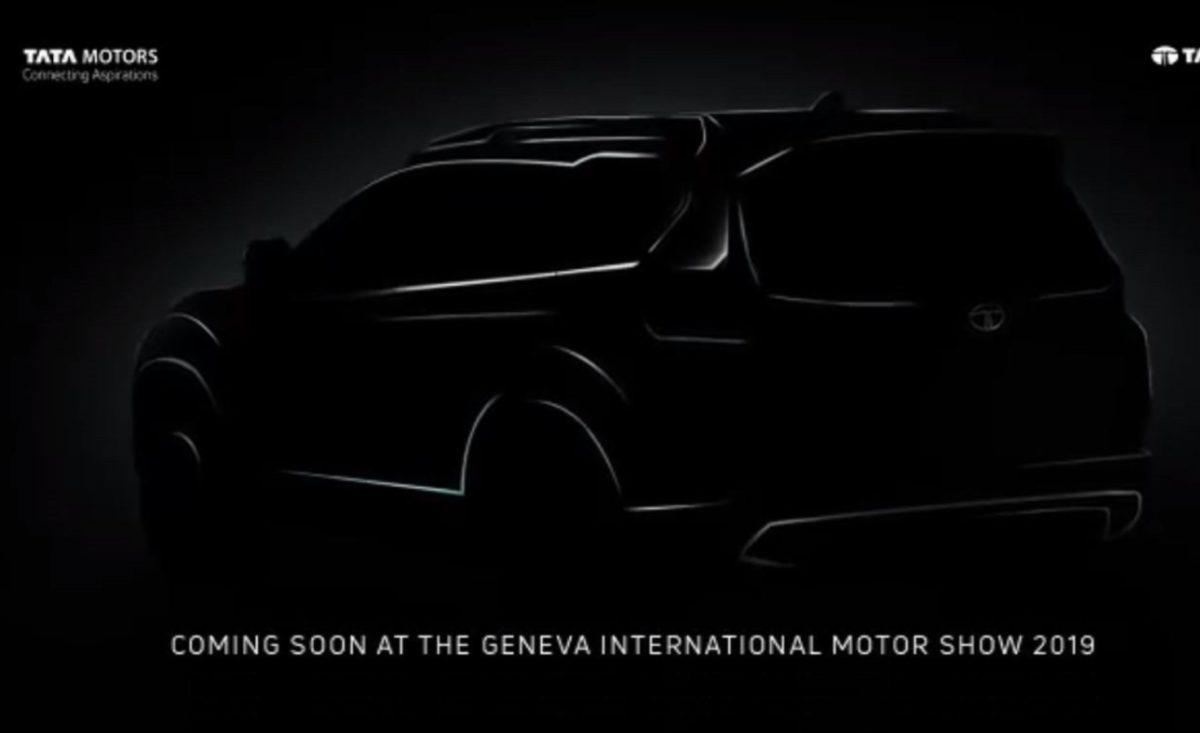 Tata H7X teaser rear quarter