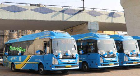 Tata Motors 9m Electric Bus Kolkata
