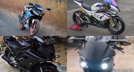 Top 5 Modified Yamaha YZF R15s