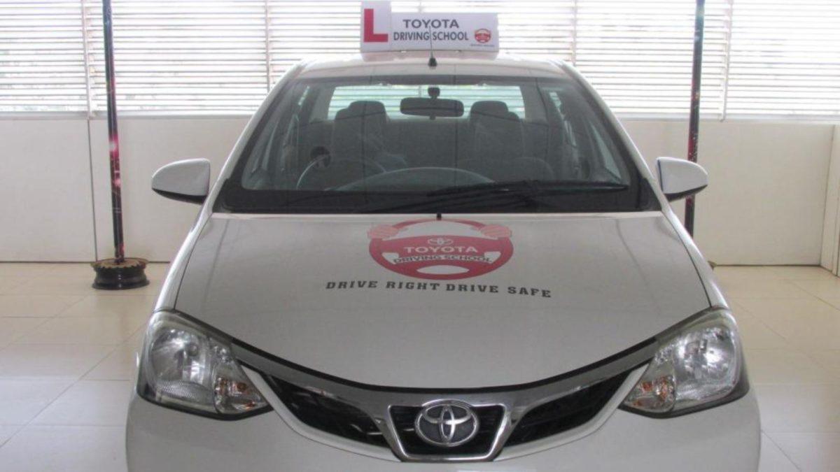 Toyota driving school Kerala Etios