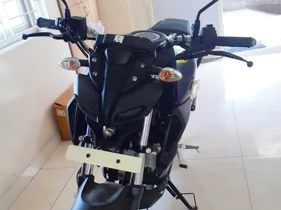 Yamaha MT 15 spied front