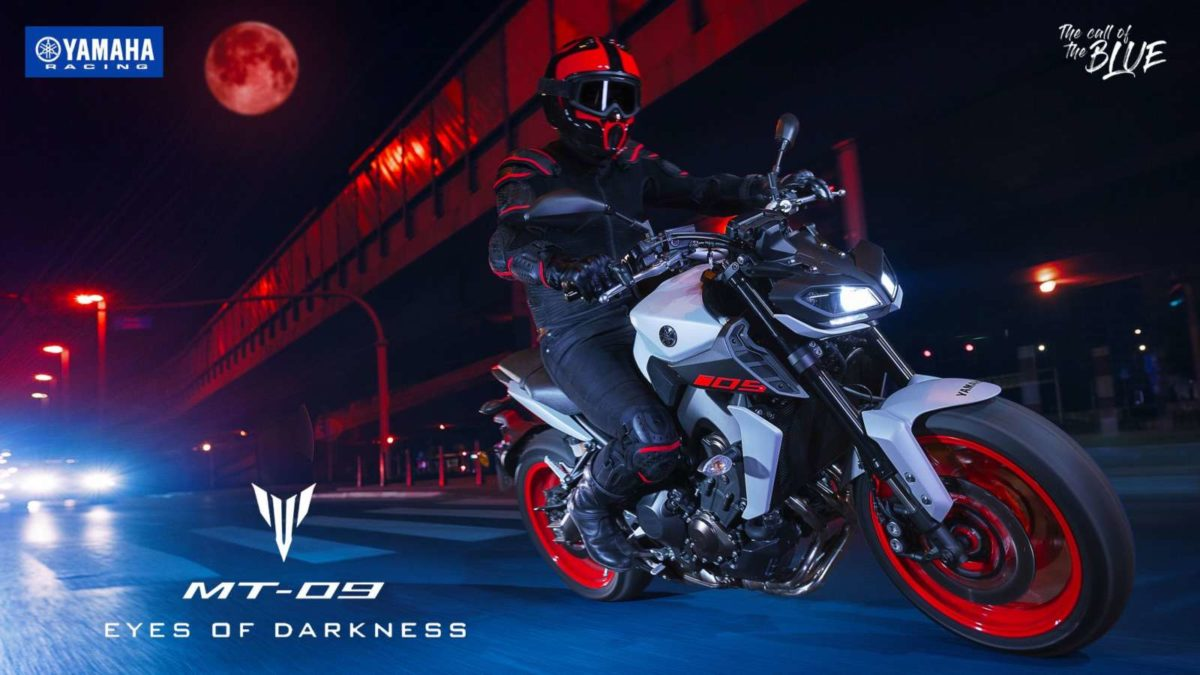 Yamaha MT09 launched lean
