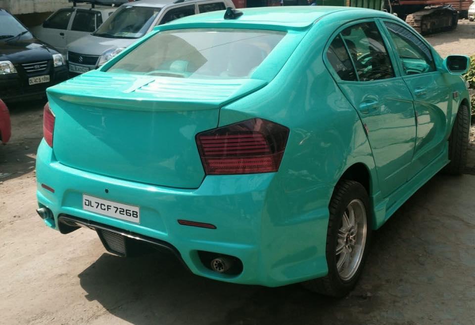 modified honda city rear