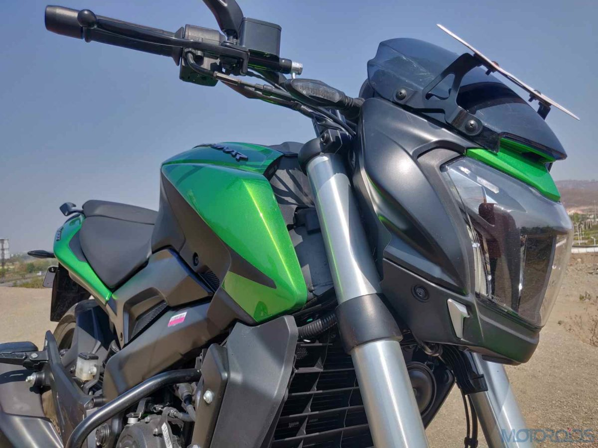 2019 Bajaj Dominar headlight side profile