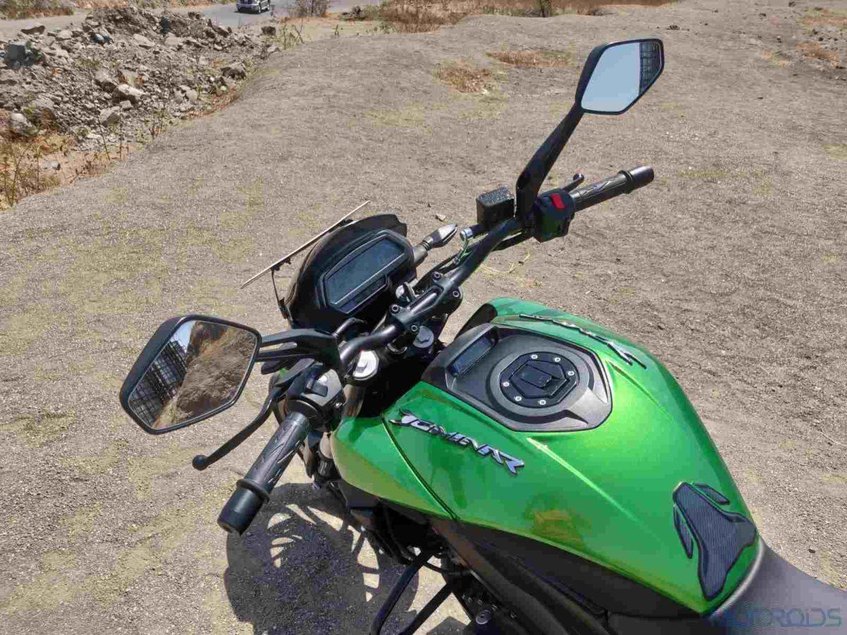2019 Bajaj Dominar rider's view