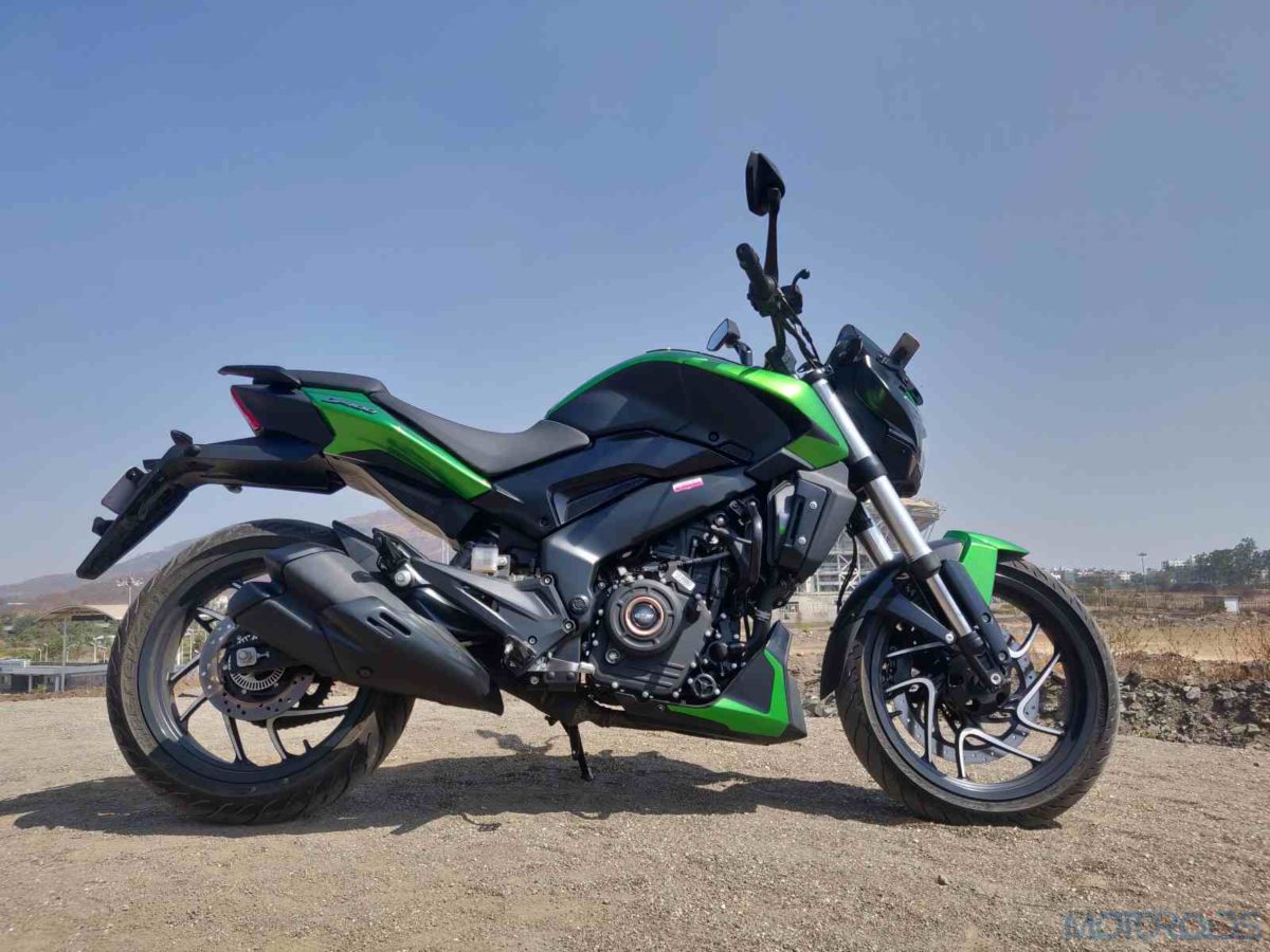2019 Bajaj Dominar side profile