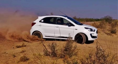 2019 Ford Figo drift