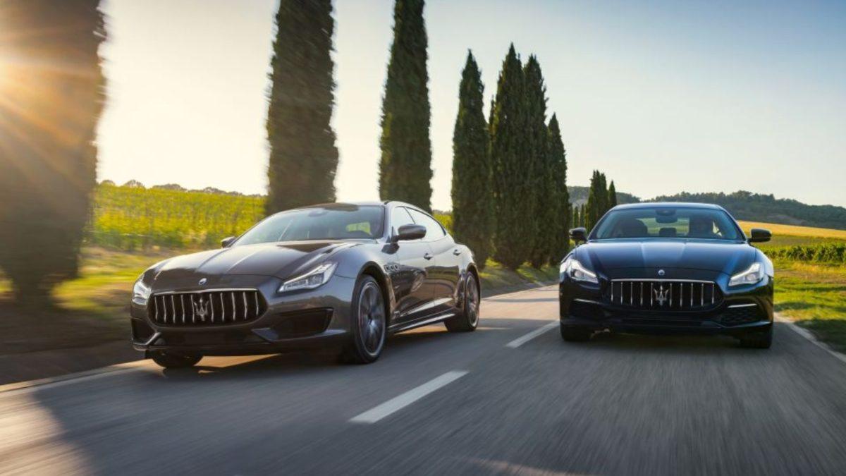 2019 Maserati Quattroporte rolling front
