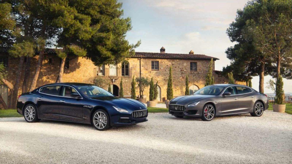 2019 Maserati Quattroporte side