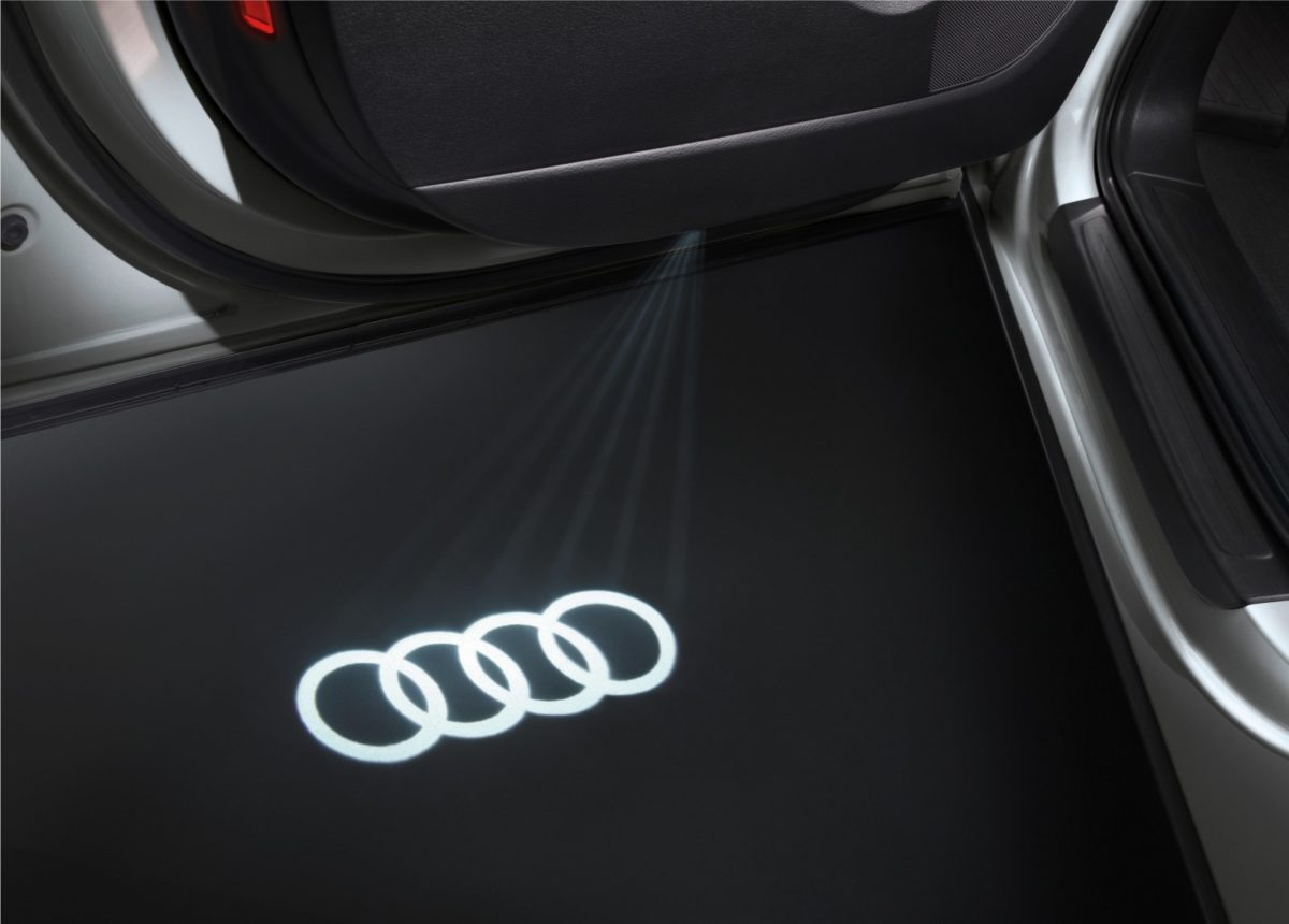 Audi A6 Lifestyle Edition Logo Projection