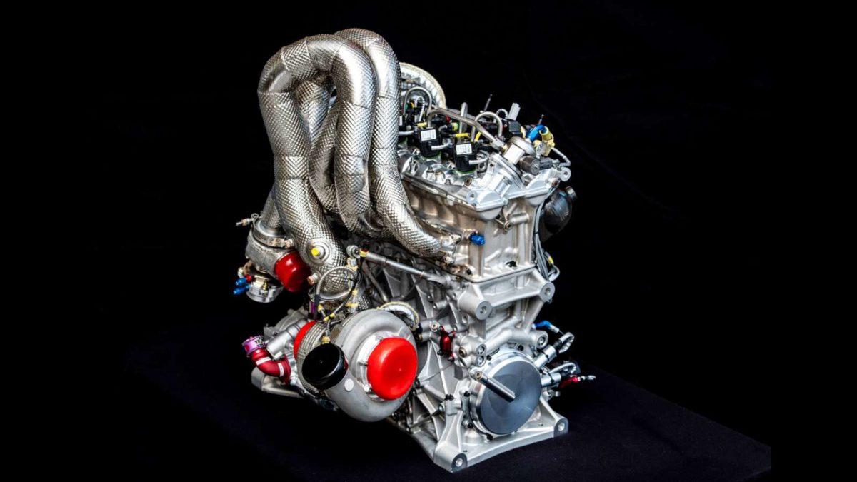 Audi DTM 2 litre TSFI engine