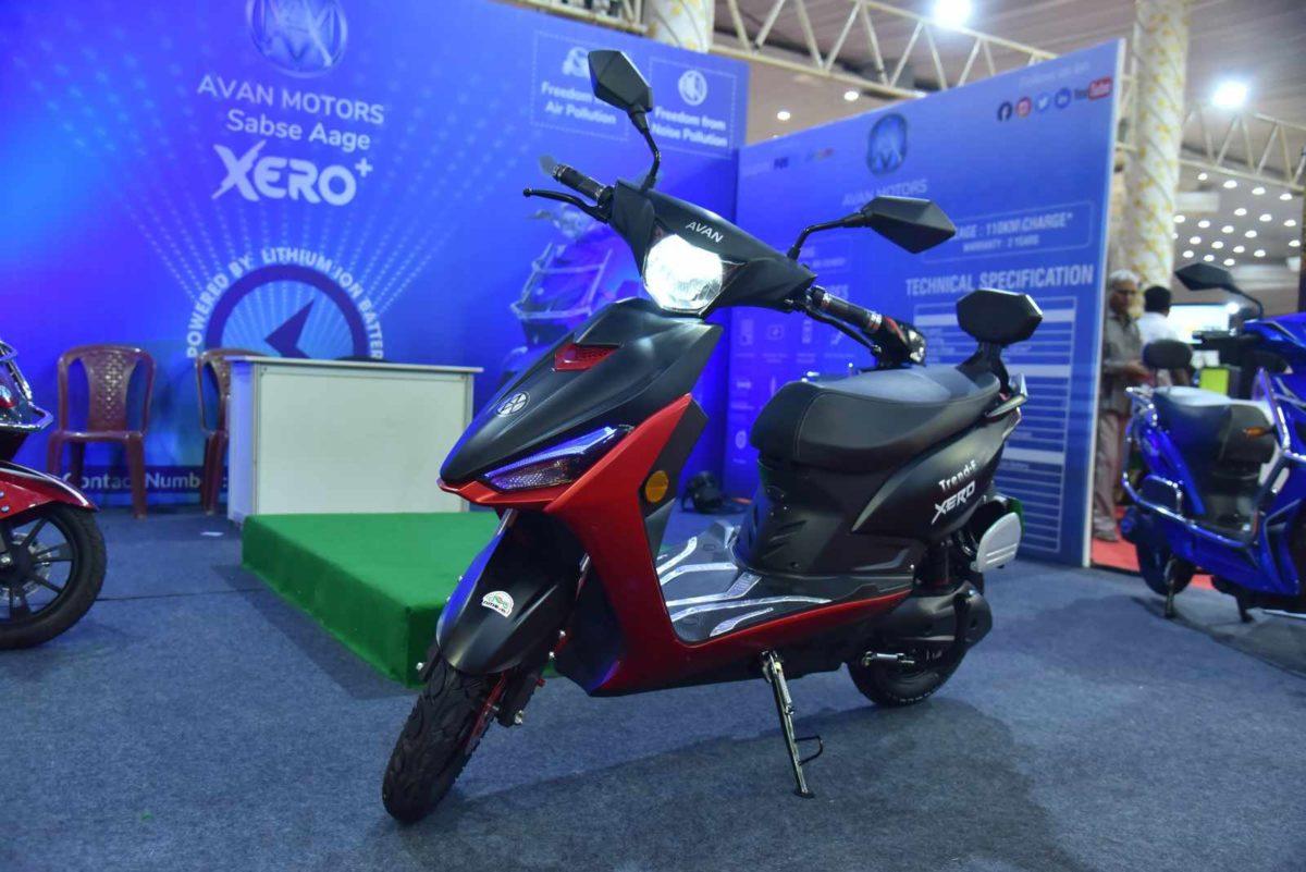 Avan Motors Trend E front