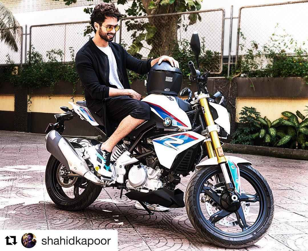 BMW G 310 R Shahid Kapoor