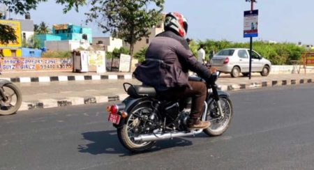 BS VI compliant Royal Enfield spotted