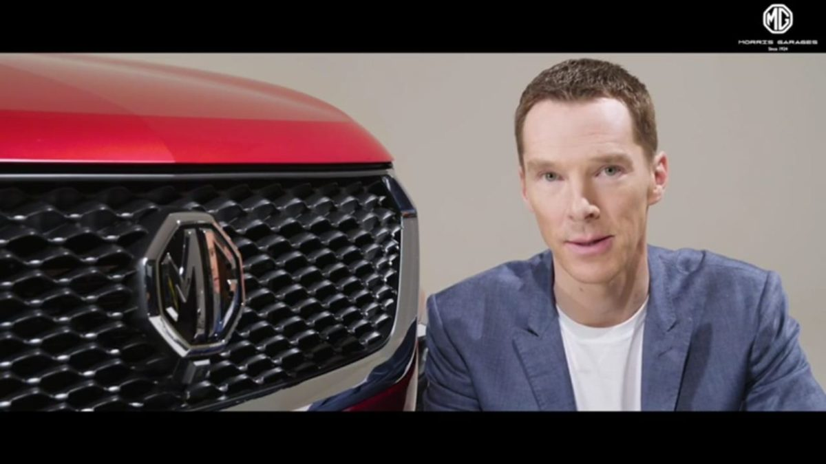 Benedict Cumberbatch becomes face of MG