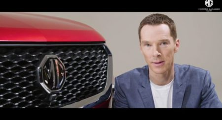 Benedict Cumberbatch to Be the Face of MG Motor in India