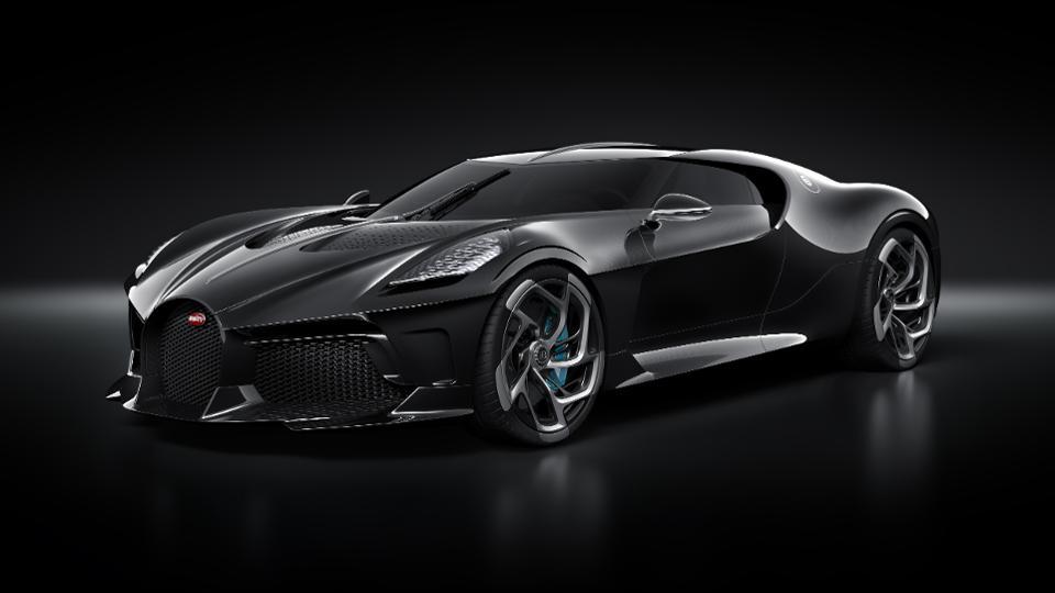 Bugatti La Voiture Noire front quarter