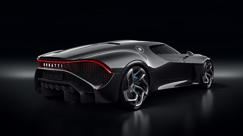 Bugatti La Voiture Noire rear quarter