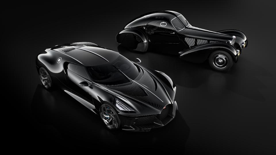 Bugatti La Voiture Noire with Type 57SC