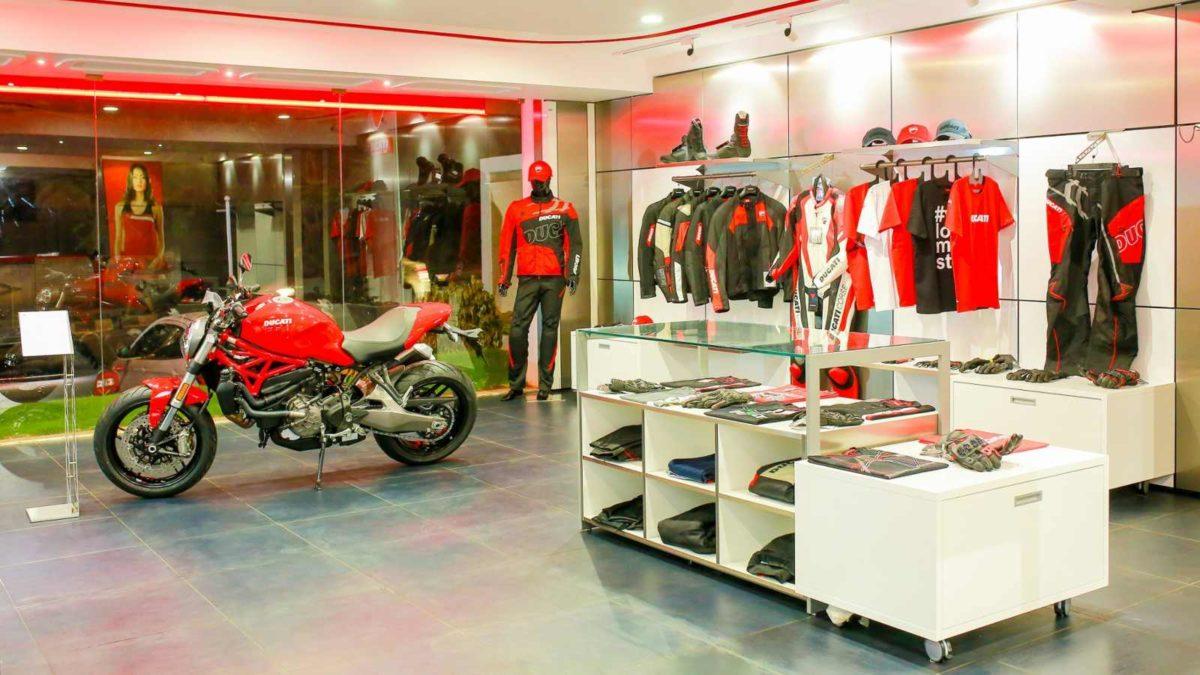 Ducati Dealership in Hyderabad apparel