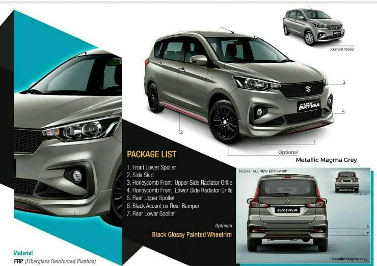 The Ertiga Gt Is For The Family Which Likes Its Cars Sporty Motoroids